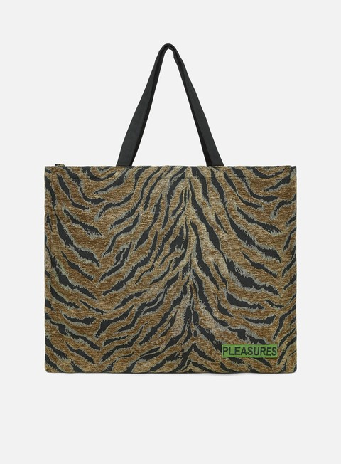 Bags Pleasures Jungle Oversized Double Side Tote Bag