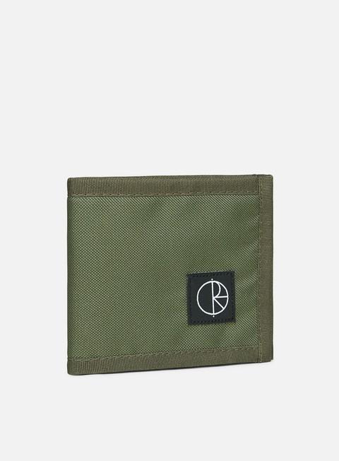 accessori polar skate cordura wallet olive