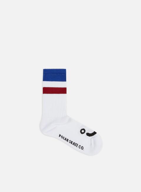 Socks Polar Skate Happy Sad Stripe Socks