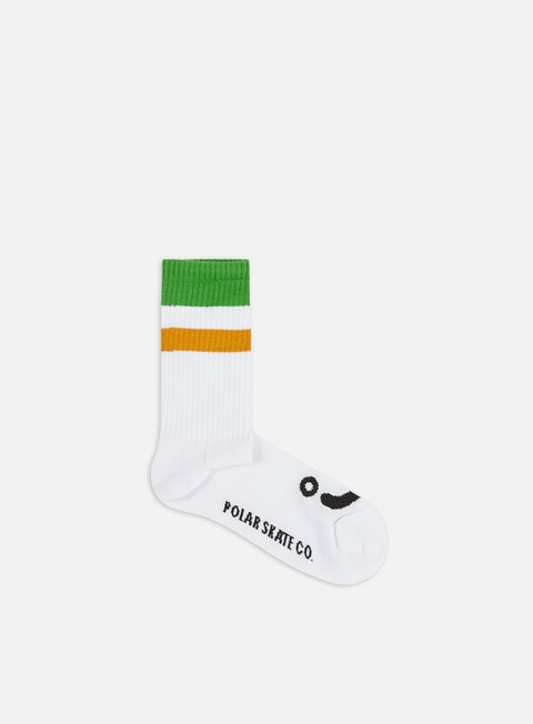Outlet e Saldi Calze Polar Skate Happy Sad Stripe Socks