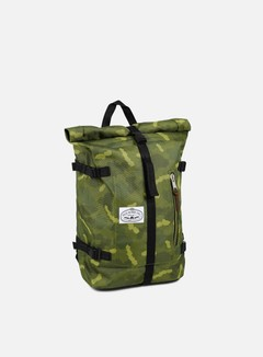 Poler - Retro Rolltop Backpack, Green Camo 1