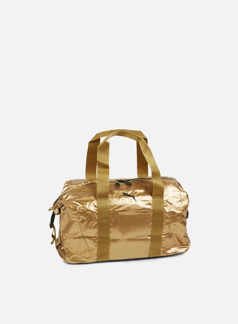 Outlet e Saldi Borse Puma Fit AT Workout Bag Gold
