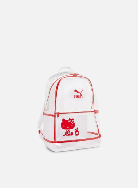 accessori puma hello kitty backpack transparent