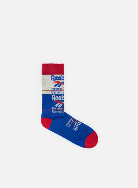 Sale Outlet Socks Reebok Classic Printemp Ete Crew Socks