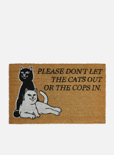 Various Accessories Rip N Dip Don't Let The Cops In Door Mat