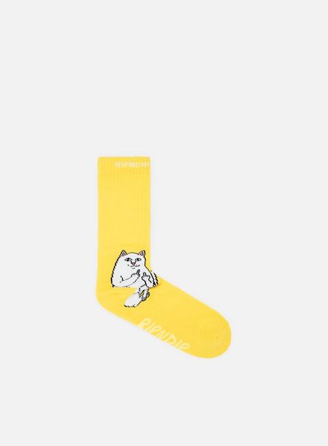 accessori rip n dip lord nermal socks yellow