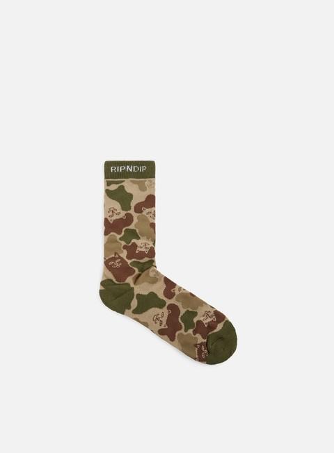 accessori rip n dip nerm camo socks army camo