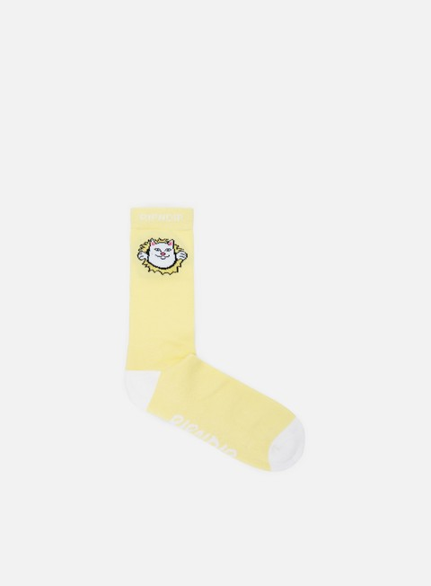 accessori rip n dip nermamaniac socks yellow