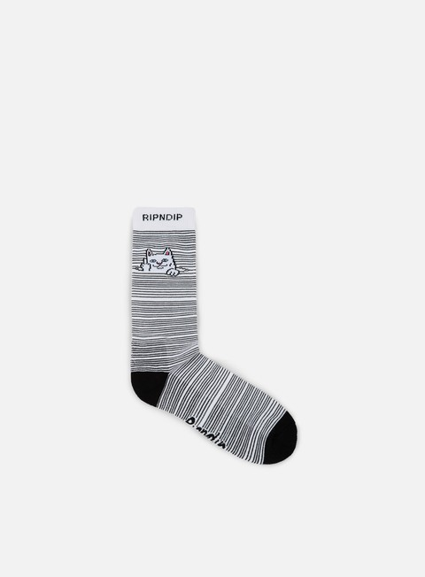 accessori rip n dip peak a nermal socks white
