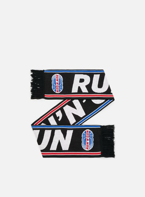 accessori run n gun logo scarf black