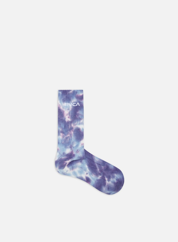 Rvca Tie Dye Crew Socks