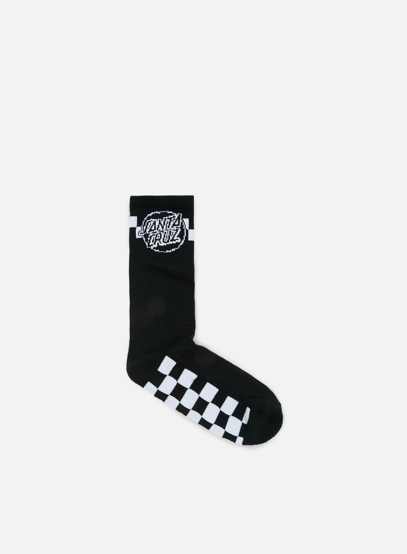 Santa Cruz - Fast Times Socks, Black