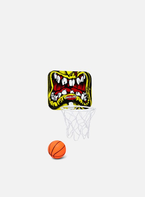 Outlet e Saldi Accessori Vari Santa Cruz Rob Face Mini Basketball Set