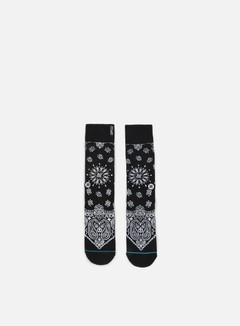 Stance - 1994 Anthem Crew Socks, Black 1