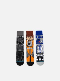 Stance - A New Hope Star Wars 3 Socks Pack 1