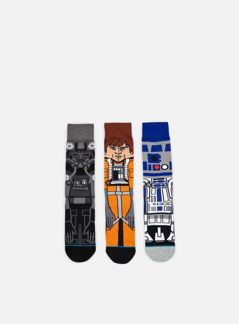 accessori stance a new hope star wars 3 socks pack