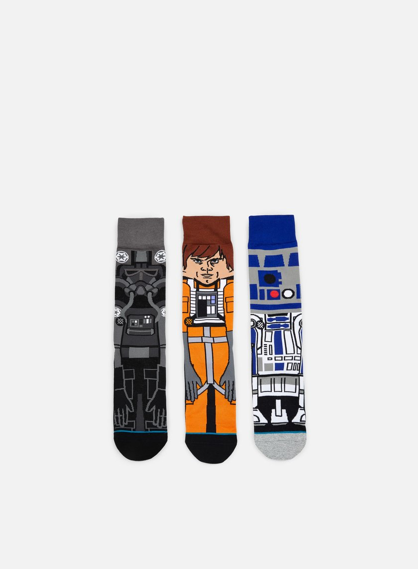 Stance A New Hope Star Wars 3 Socks Pack