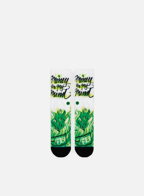 accessori stance airbrush money crew socks multi
