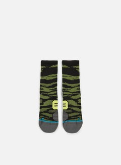Stance - Bandit Run Crew Socks, Green 1