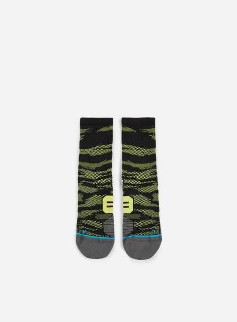 accessori stance bandit run crew socks green