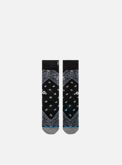 Stance - Barrio Crew Socks, Black