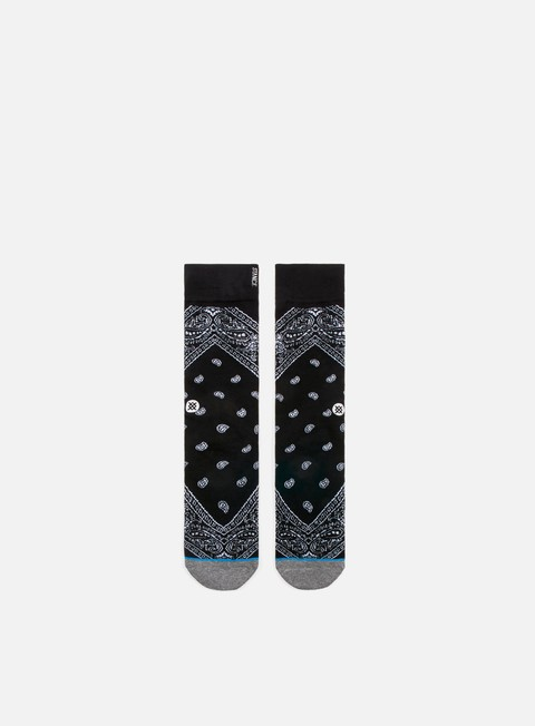 accessori stance barrio crew socks black