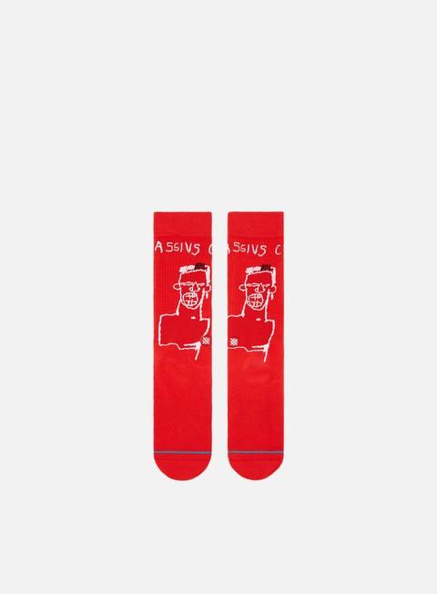 accessori stance basquiat cassius socks red