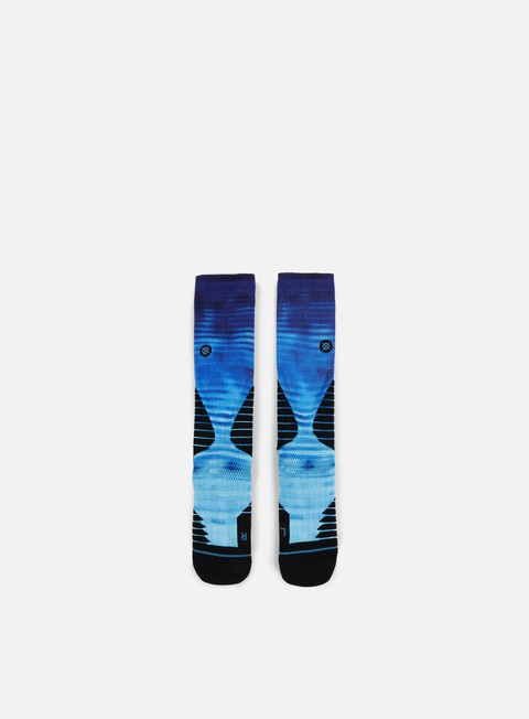 accessori stance blue horizon fusion basketball crew socks blue