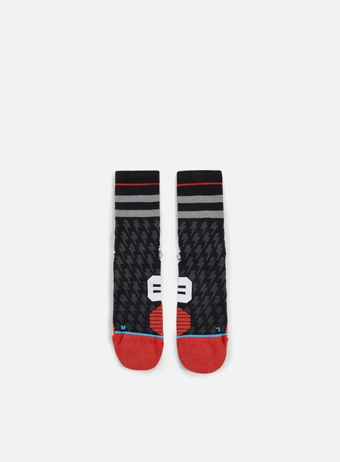 accessori stance bolt run crew socks black