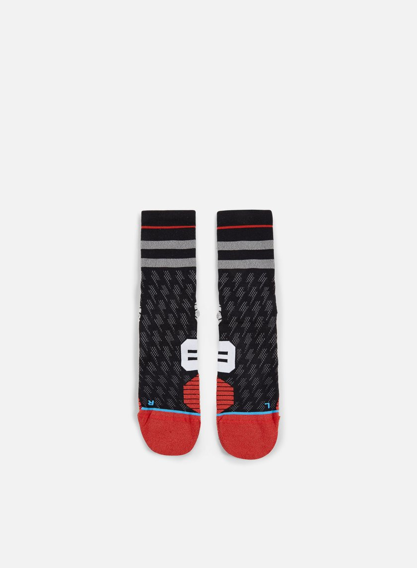 Stance - Bolt Run Crew Socks, Black
