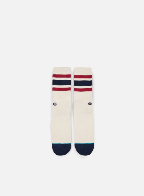 accessori stance boyd 3 crew socks natural