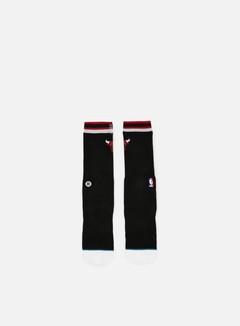 Stance - Bulls Arena Logo Crew Socks, Black 1