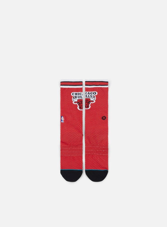 Stance - Bulls Jersey Crew Socks, Red