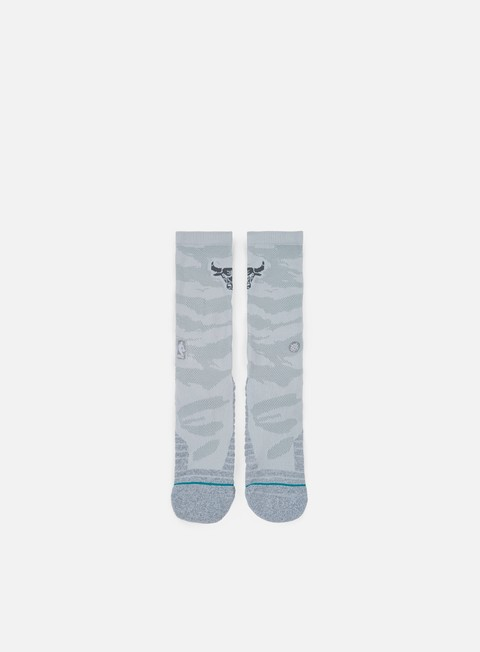 accessori stance bulls snow crew socks grey
