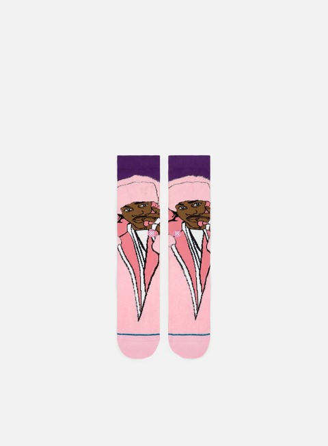 accessori stance cam ron crew socks pink