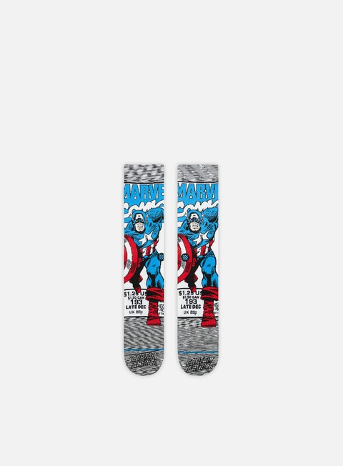Outlet e Saldi Calze Stance Captain America Comic Socks