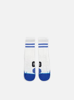Stance - Chamber Run Crew Socks, White 1