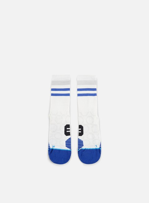accessori stance chamber run crew socks white