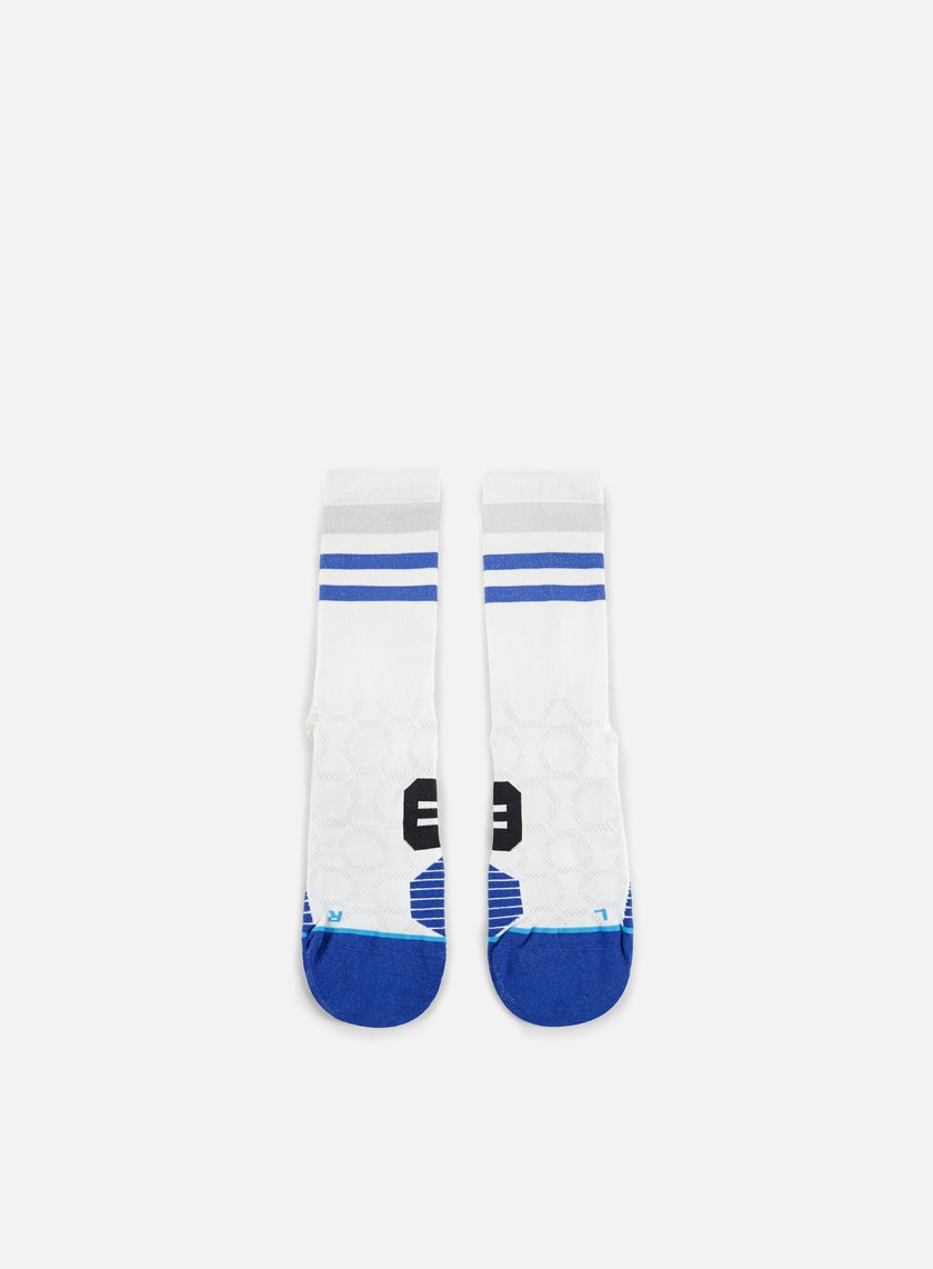 Stance - Chamber Run Crew Socks, White