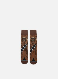 Stance - Chewie Star Wars Socks, Brown 1