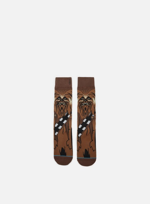 accessori stance chewie star wars socks brown