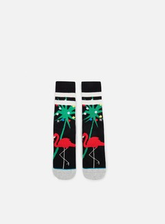 Stance - Dasher M Crew Socks, Black 1
