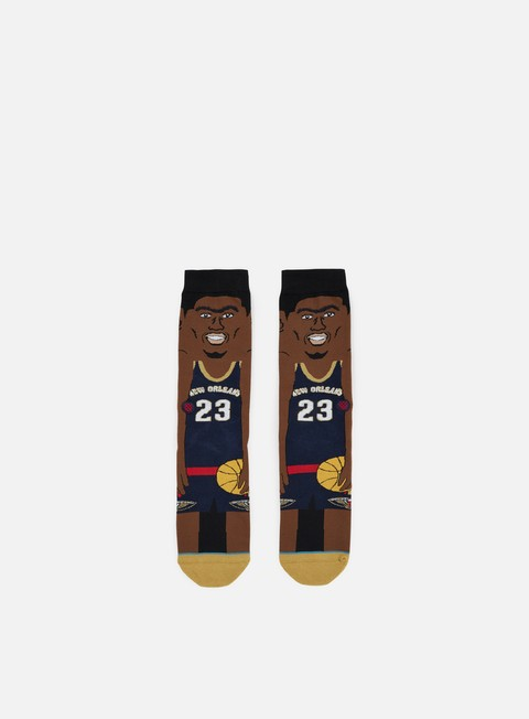 accessori stance davis nba cartoons crew socks navy
