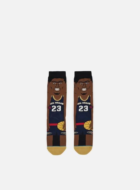 Stance Davis NBA Cartoons Crew Socks