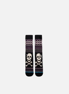 Stance - Death Sidestep Crew Socks, Black 1