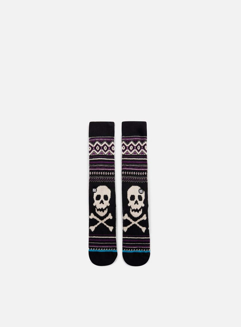 Stance - Death Sidestep Crew Socks, Black