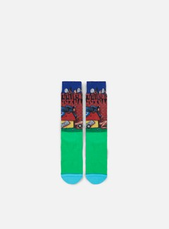 Stance - Doggy Style Crew Socks, Green 1