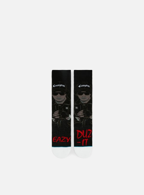 accessori stance eazy dut it crew socks black