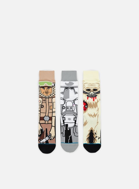 Outlet e Saldi Calze Stance Empire Strikes Star Wars 3 Socks Pack