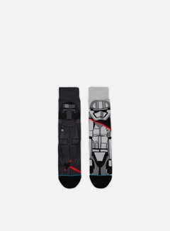 Stance - First Order Star Wars Socks, Dark Grey 1